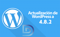 Actualización Wordpress 4.8.2